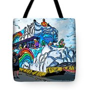 The Spirit Of Mardi Gras Tote Bag