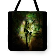 The Spirit Of The Wolf Tote Bag