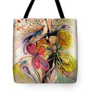 The Splash Of Life Series No 3 Tote Bag
