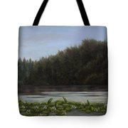 The Spring On The Lake Tote Bag