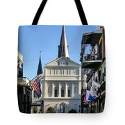 The St. Louis Cathedral Tote Bag