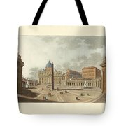 The St. Peter's Cathedral In Rome Tote Bag by Splendid Art Prints