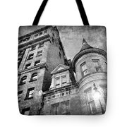 The Stafford Hotel - Grayscale Tote Bag