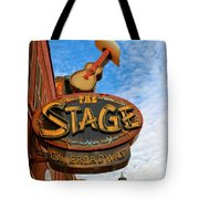 The Stage On Broadway Tote Bag