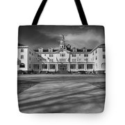 The Stanley Hotel Bw Tote Bag