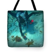 The Star Of The Scene Tote Bag