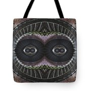The Stare Tote Bag by Debra and Dave Vanderlaan