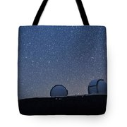 The Stars Above Keck Tote Bag