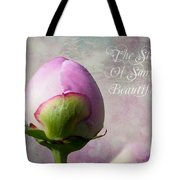 The Start Of Something Beautiful ... Tote Bag