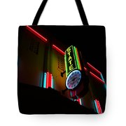 The State In Neon Tote Bag