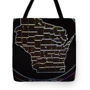 The State Of Wisconsin Tote Bag