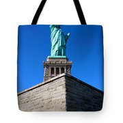 The Statue Tote Bag