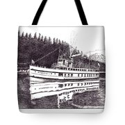 The Steamer Virginia V Tote Bag