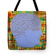 The Steampunk Brain Tote Bag