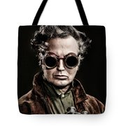 The Steampunk - Sci-fi Tote Bag by Gary Heller
