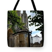 The Steeple And The Gate Tote Bag