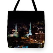 The Steeple City Tote Bag