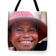 The Sticky Rice Lady Tote Bag