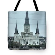 The St.louis Cathedral Tote Bag