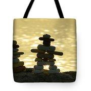 The Stone Couple Tote Bag