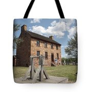The Stone House At Manassas Tote Bag