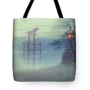 The Stone Lantern Cira 1880 Tote Bag