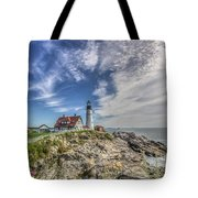 The Storm Approaches Tote Bag