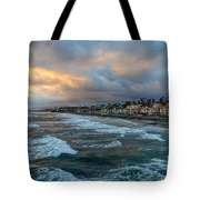 The Storm Clouds Roll In Tote Bag
