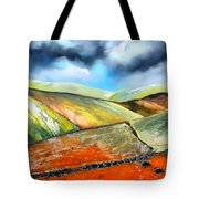 The Storm Is Never Far Away Tote Bag