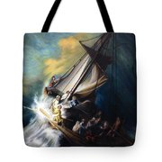 The Storm On The Sea Of Galilee Tote Bag