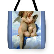 The Story Of Cupid And Psyche Tote Bag
