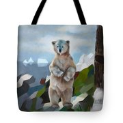 The Story Of The White Bear Tote Bag