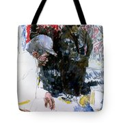 The Story Teller Tote Bag