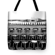 The Story Told Bw Tote Bag