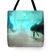 The Storyteller - A Fish Tale By Sharon Cummings Tote Bag