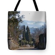 The Street In Upper Town 2 Tote Bag