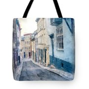 The Streets Of Old Quebec City Tote Bag