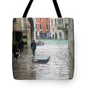 The Streets Of Venice Tote Bag