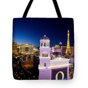the Strip Las Vegas Tote Bag