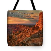 The Strong Tower Tote Bag
