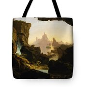 The Subsiding Of The Waters Of The Deluge Tote Bag
