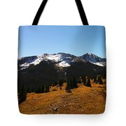 The Sugar Coated Mountains Tote Bag