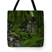 The Summer Cottage Tote Bag
