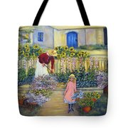 The Summer Garden Tote Bag