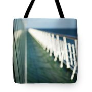 The Sun Deck Tote Bag by Anne Gilbert