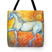 The Sun Horse Tote Bag
