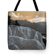 The Sun Let Down  Tote Bag