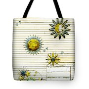 The Sun Moon And Stars Tote Bag