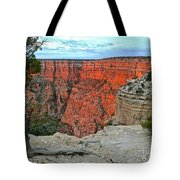 The Sun Shines On The Canyon Tote Bag