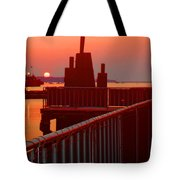 The Sun The Sound And The Sky Tote Bag